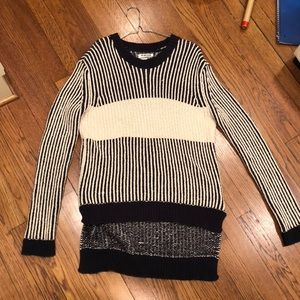 One teaspoon Navy and white striped sweater